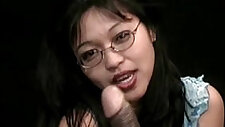 Japanese cam Girl with sexy nerd,perfect asian
