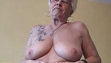 Kinky year old grandma