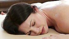 Stepmom s marvelous massage