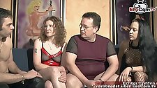german amateur swinger party with normal people