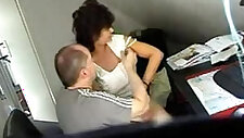 Video from hidden cam mature fucked real hard at office table