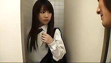 Uniform high school girl abolition