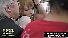 Slutty Japanese Teen On The Bus