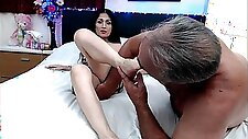 Asian Whore Foot Fetish Fucks Ass with Toe