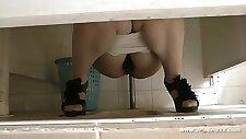 chinese public toilet
