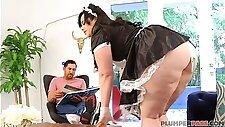Big Booty Maid Virgo Peridot wird von Master gefickt
