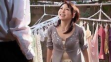 Hottest Japanese girl in Best Upskirt, Wife JAV movie