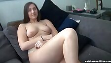 Very sexy innocent chubby college student