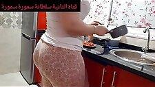 Big booty Arab MILF prepare dinner