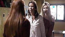Mackenzie Moss And Alexis Fawx - Hot Lesbian Scene