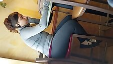 Candid thick college girl amazing body part 1