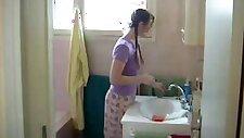 Dad amp friend spank pretty daughter