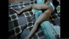 Amiga da balada dormindo Sleeping drunk girlfriend
