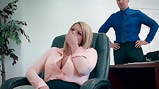big tits at work a case of the moan days scene starring brooklyn chase and keiran lee